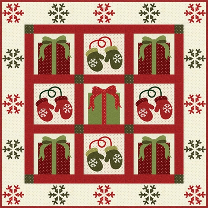 Winter Wishes Quilt Kit 9653-010