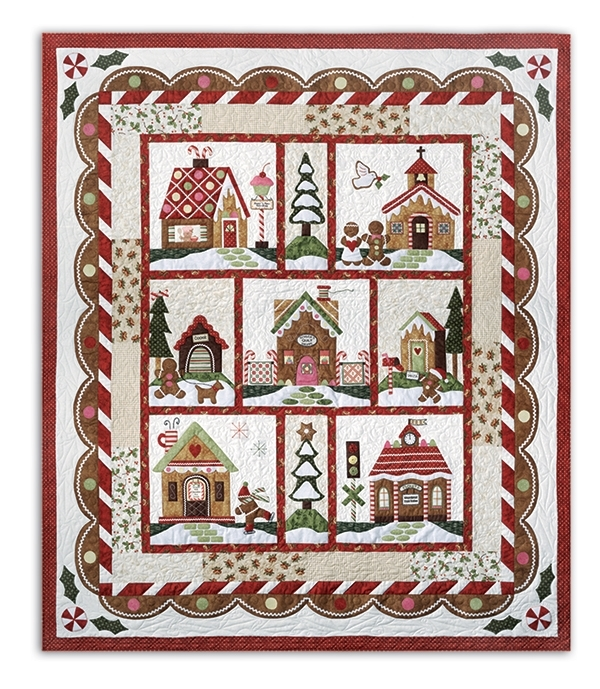 Maywood Gingerbread Village Kit