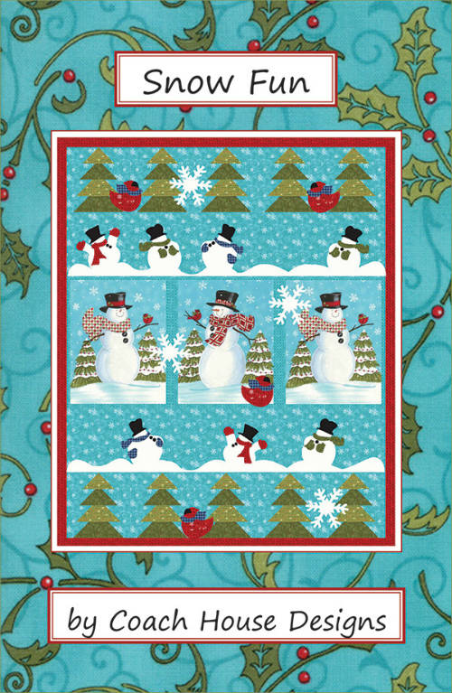Coach House Designs Snow Fun CHD1644