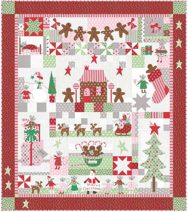 Moda Sugar Plum Christmas Kit 2910KIT