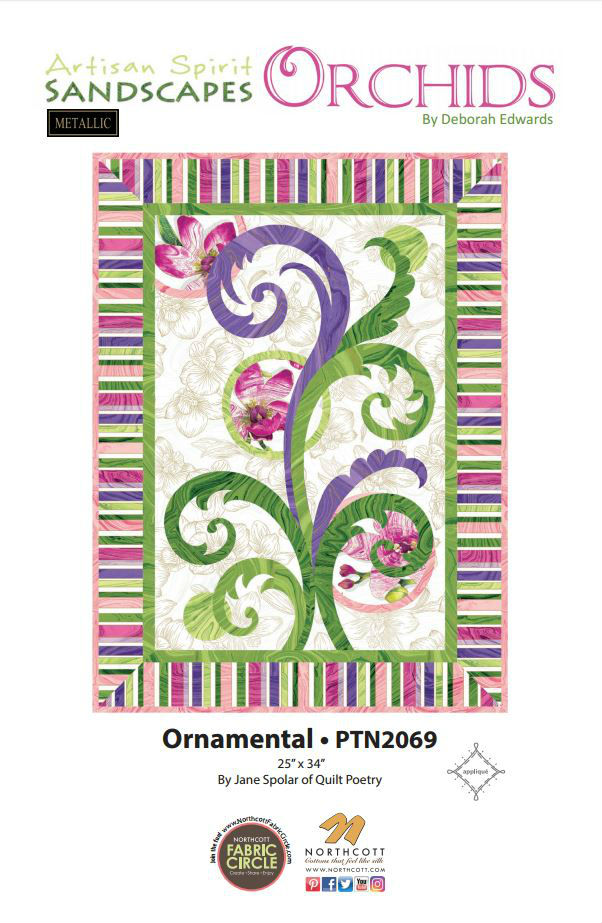 Pattern Ornamental by Jane Spolar PTN2069
