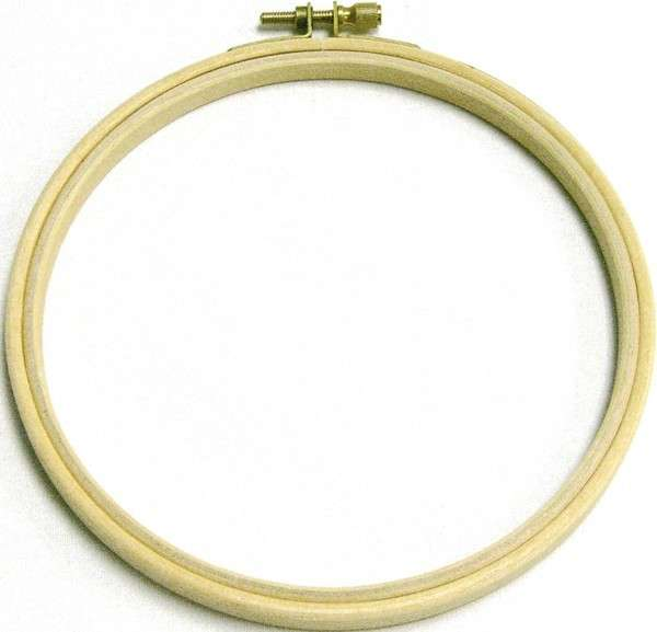 Edmunds Wood Embroidery Hoop 3in