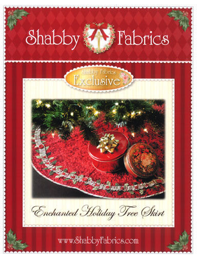Enchanted Holiday Tree Skirt Pattern