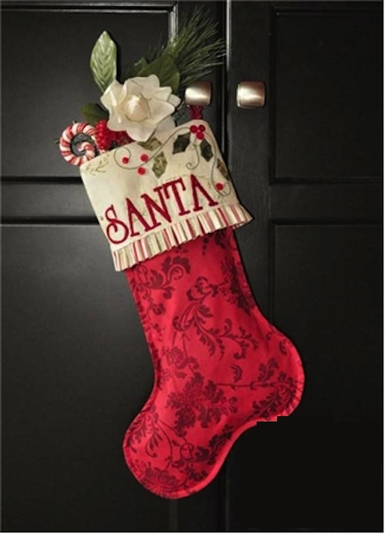 Enchanted Holiday Stocking Pattern by Jennifer Bosworth