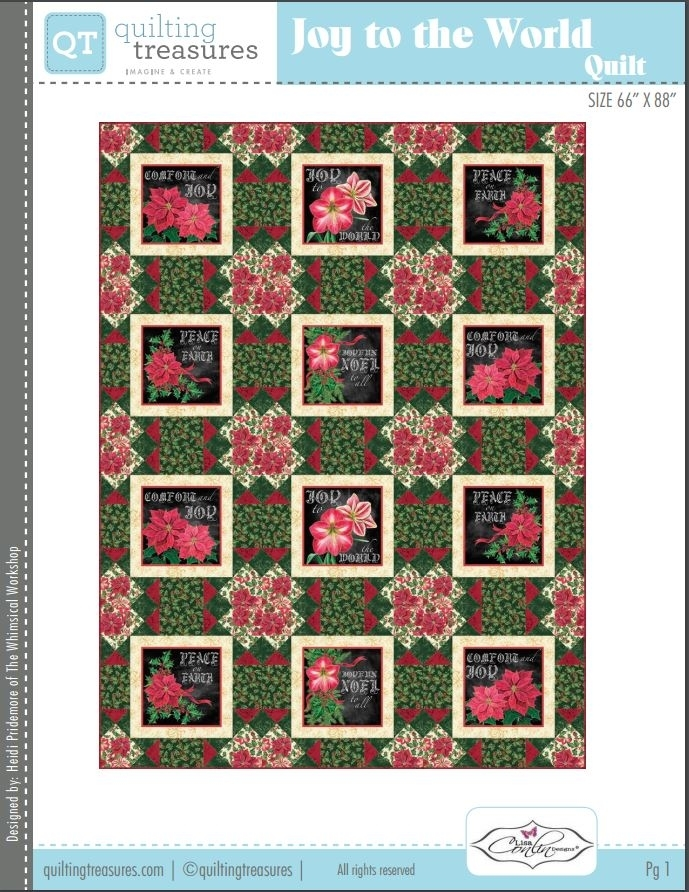 Free Quilting Patterns - Quilted Christmas : quilting treasures patterns - Adamdwight.com