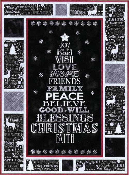 Chalkboard Christmas Kit QCJ1601K
