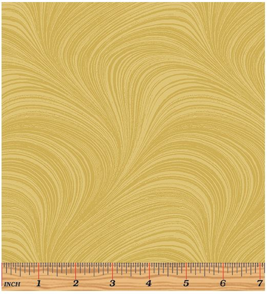 Benartex Wave Texture 2966-33 Gold