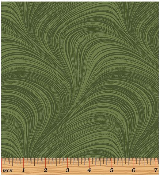 Benartex Wave Texture 2966-43 Medium Green