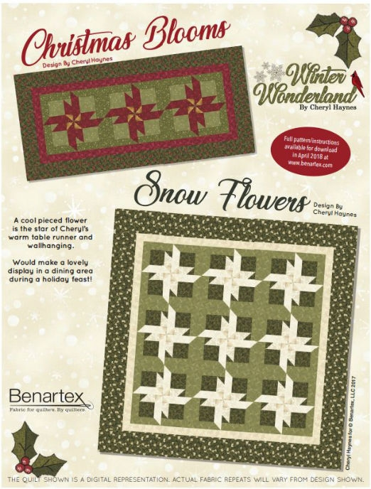 Benartex Winter Wonderland Free Pattern