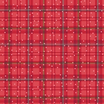 Benartex Better Not Pout Winter Plaid Red BEN10175-10