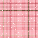 Benartex Better Not Pout Winter Plaid Coral BEN10175-26