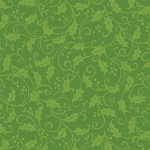 Benartex Better Not Pout 20 inch wide Toweling Fabric Holly Green BEN1868-40