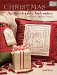 Christmas Patchwork Loves Embroidery Hand Stitches, Holiday Projects B1333T
