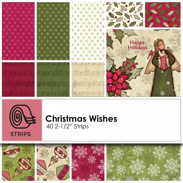 Clothworks Christmas Wishes 2-1/2