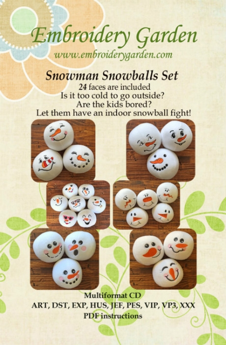 Snowman Snowball Set SNWBLST14
