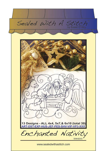 Sealed with a Stitch Enchanted Nativity CD