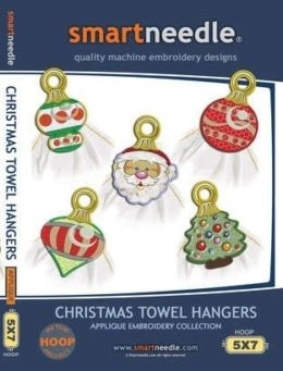 Smartneedle Christmas Towel Hangers