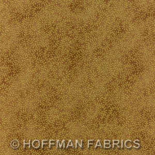 Hoffman Scroll Blenders Antique Tan/Gold J9216-A64G