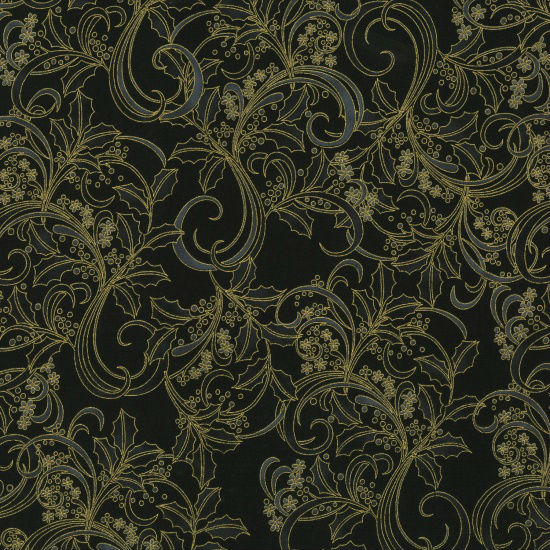 Hoffman Cardinal Carols P7614-4G Black/Gold