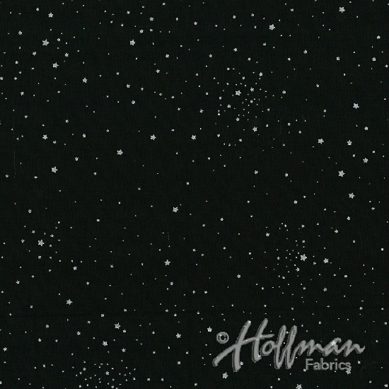 Hoffman Sparkle and Fade Q4413-4S Black/Silver