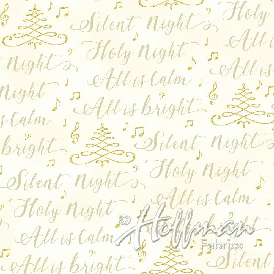 Hoffman Cardinal Carols Q7631-20G Natural/Gold