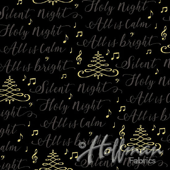 Hoffman Cardinal Carols Q7631-4G Black/Gold