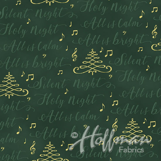 Hoffman Cardinal Carols Q7631-60G Hunter/Gold