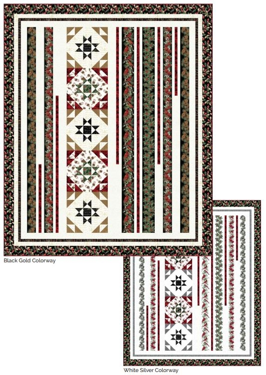 Hoffman Deck the Halls Free Pattern