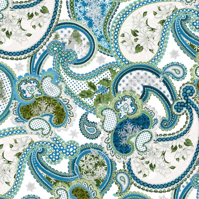 In the Beginning Fabrics Winter Elegance - Closeout