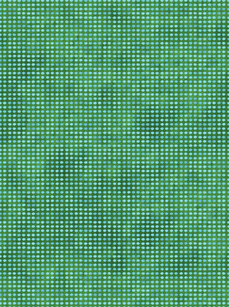 In the Beginning Fabrics Dit-Dot Medium Teal 8AH11