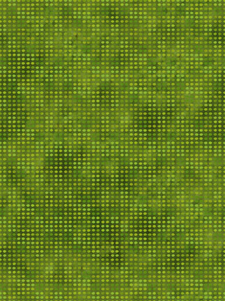 In the Beginning Fabrics Dit-Dot Meadow Green 8AH12