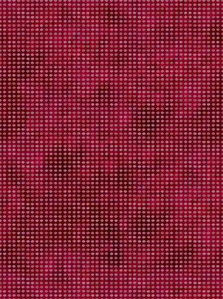 In the Beginning Fabrics Dit-Dot Maroon 8AH15