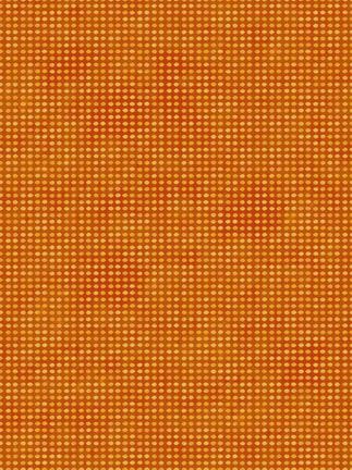 In the Beginning Fabrics Dit-Dot Pumpkin 8AH8