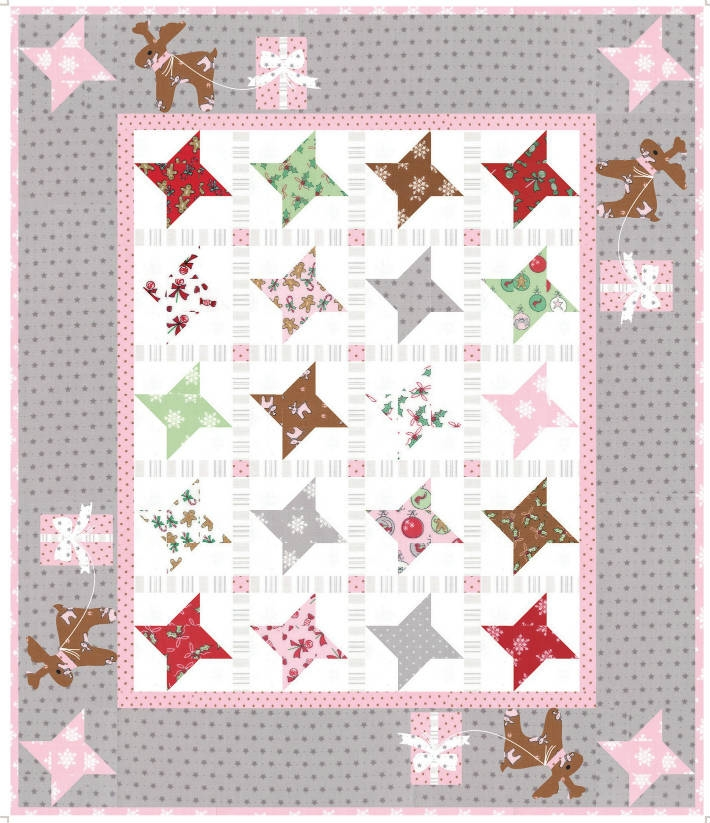 Sugar Stars Mini Quilt Kit