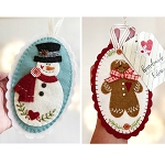 Burrt & Ginger Felt Ornament Kit BandGKit