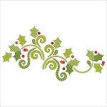 Season's Greetings Garland Applique Kit UE-SGGKit