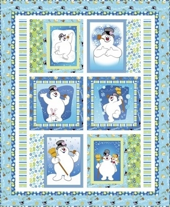 Quilting Treasures Silly Snowman Kit