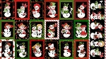 Loralie Designs Snow Ladies Black Fabric 24