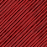 Loralie Designs Snow Ladies Quirky Bias Stripe Red/Black LOD692-409