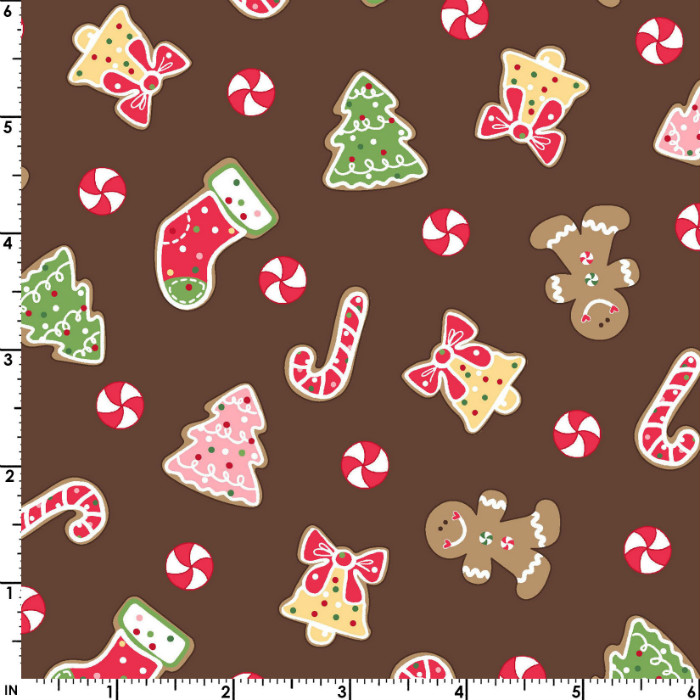 Maywood Studios We Whisk You a Merry Christmas! Christmas Cookies Mas9671-A