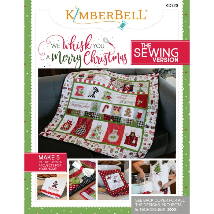 We Whisk You a Merry Christmas! Book (Sewing Version) KID723