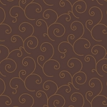 Maywood Studios Kimberbell Basics Brown Scroll MAS8243-AA