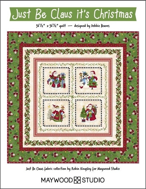 Maywood Studios Just Be Claus Free Pattern