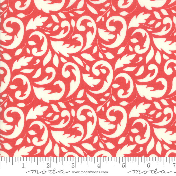 Moda Christmas Figs II 20351-31 Swirly Pomegranate