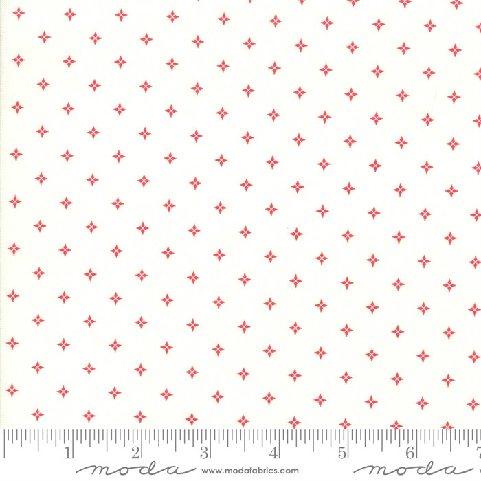 Moda Country Christmas Twinkle Stars Winter White 2964-11