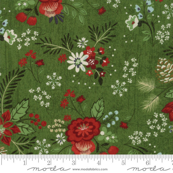 Moda Winter Village Spruce 30550-16