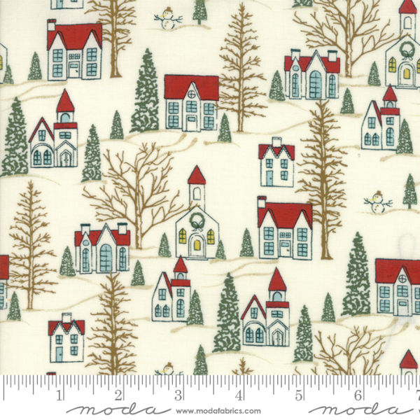 Moda Winter Village White Paper 30551-11