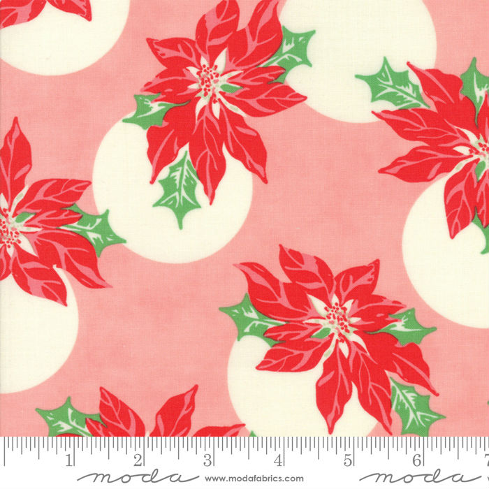 Moda Swell + Sweet Christmas Pink 31121-12