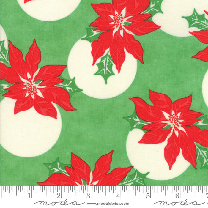 Moda Swell + Sweet Christmas Green 31121-14