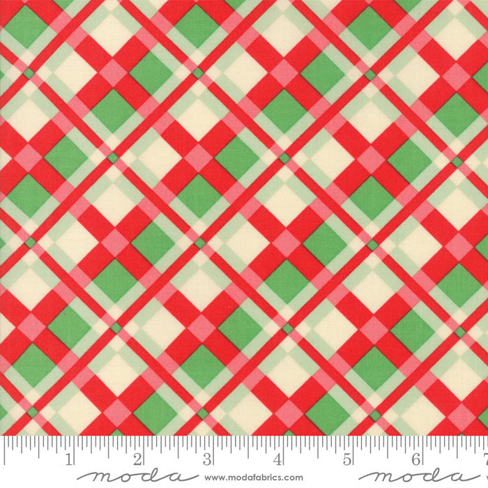 Moda Swell + Sweet Christmas Red Green 31122-11